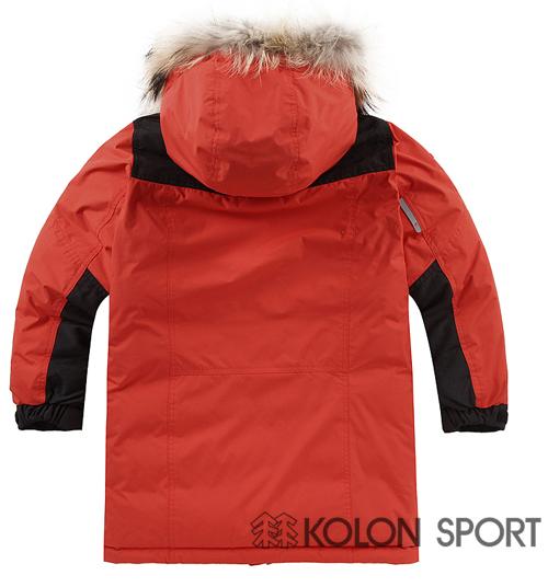 Kolon Sport Boys' Winter Professional Long Heavy Down Jacket