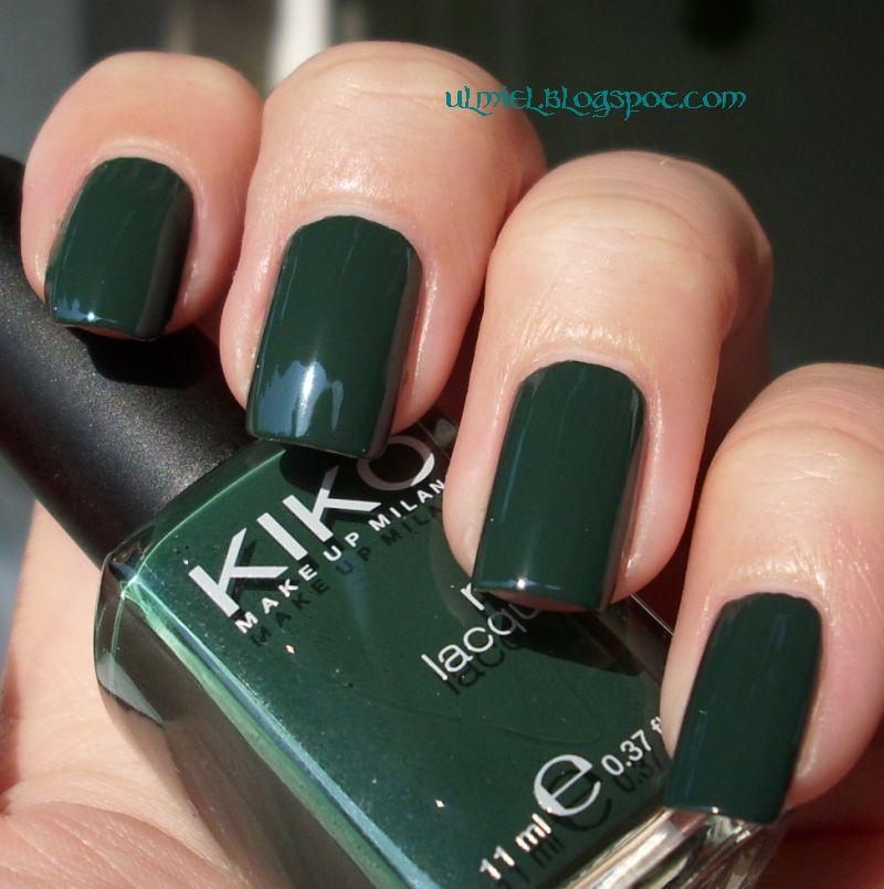 Did someone say nail polish?: Kiko 300 and 347 with a comparison