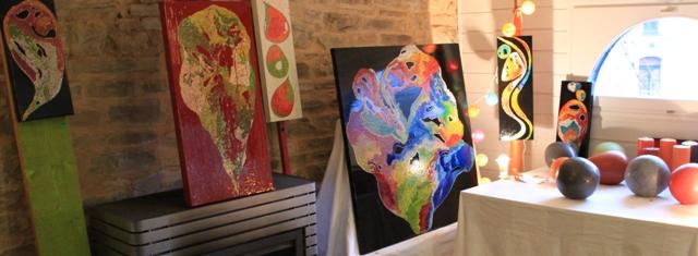 manifestation boucles d'art 2012_la courbe_bourg des comptes