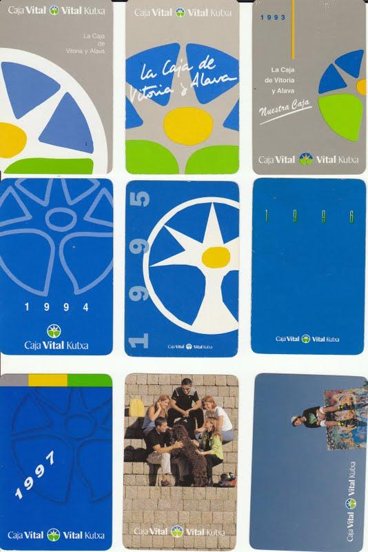 Colecciono calendarios caja vital 1991 2009 for Caja vital oficinas vitoria