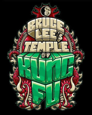 Bruce Lee's Temple of Kung Fu Blind Box Series Logo by MAD