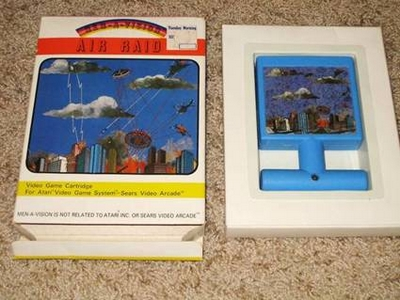 Air Raid Retro Games Atari 2600