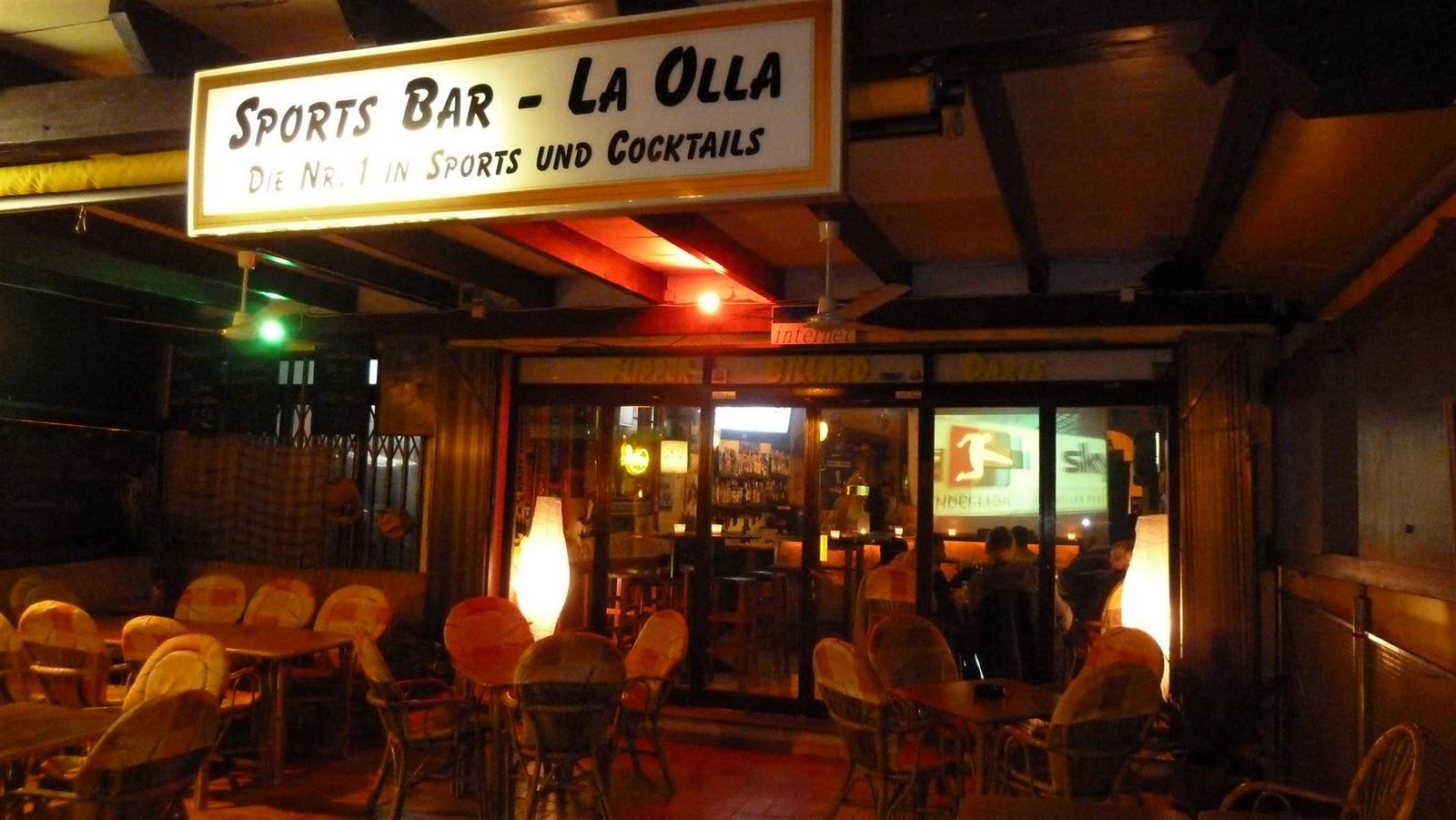 Überwintern auf Mallorca: Oldie - Party in der SPORTS BAR \