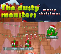 Dusty Monsters Christmas walkthrough and guide.
