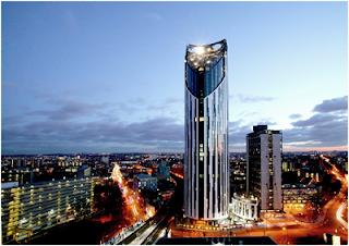 Menara unik, gedung pencakar langit