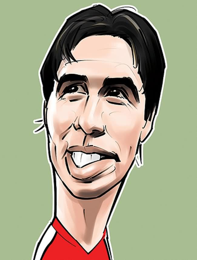 funny wallpapers of samir nasri french striker sport