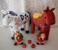 Dala Horse Soft Toys - Wintor and Darma