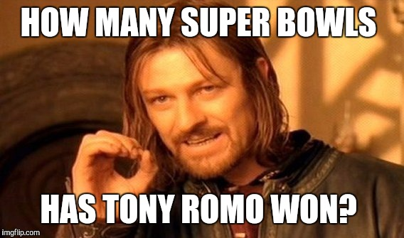 #tonyromo #superbowls #cowboyshaters #nfl.- how many super bowls has tony romo won?