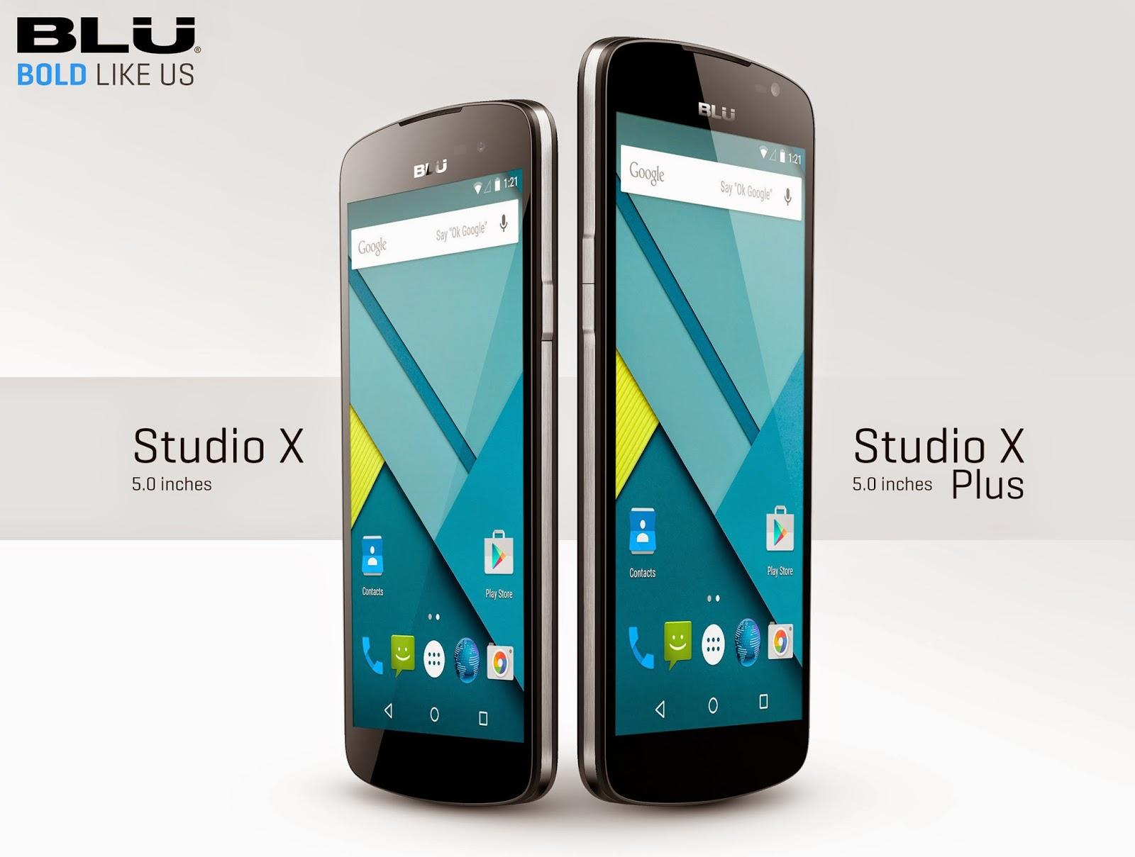 blu studio x blu studio x plus