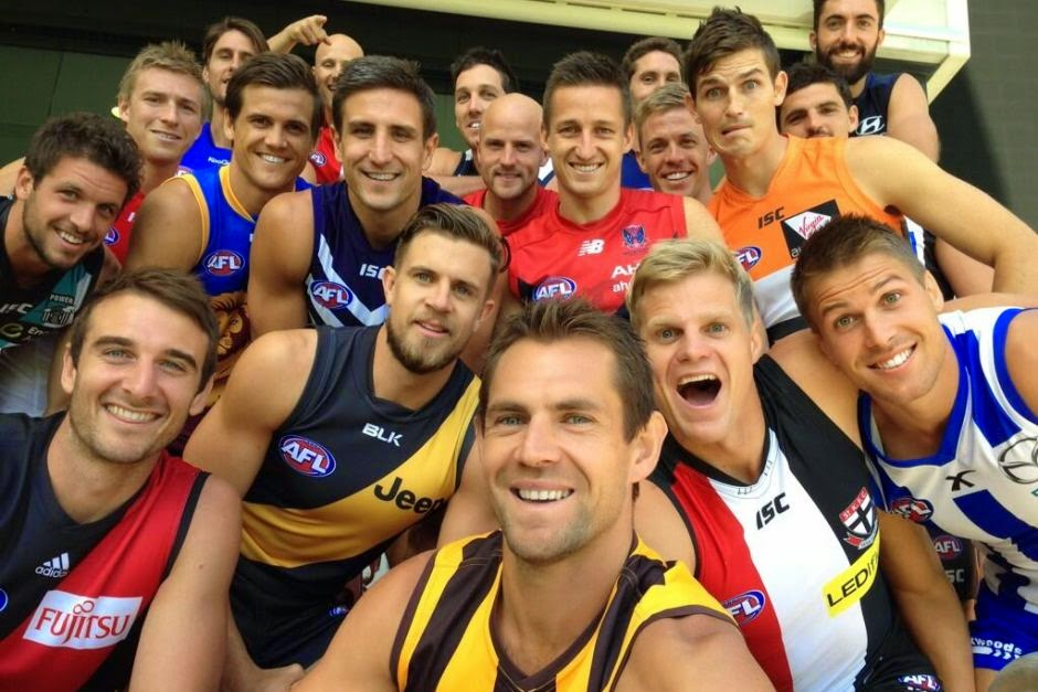 captains of afl 2014
