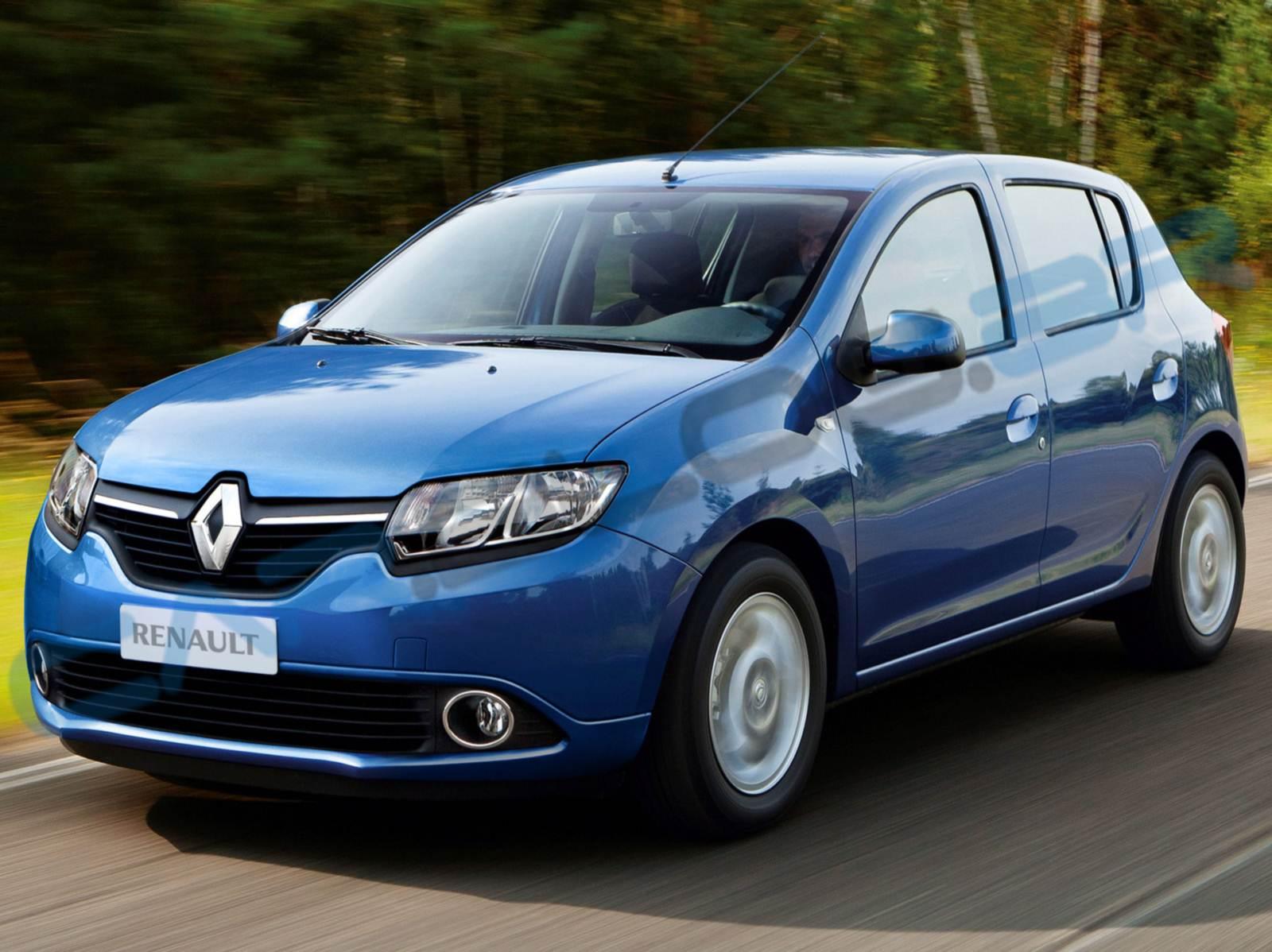 Novo Renault Sandero 2014 - projeção antecipa linhas