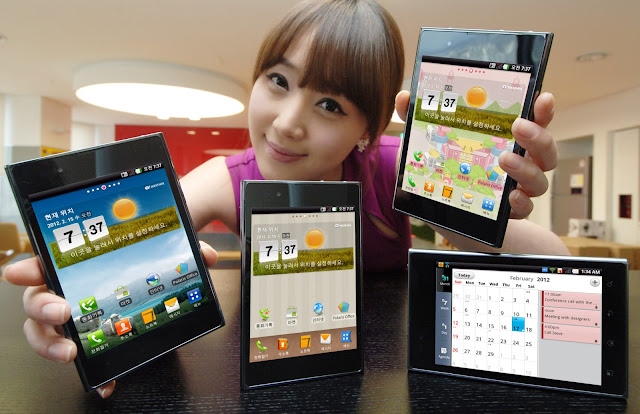 LG OPTIMUS VU New Android Smartphone Mobile Phone Photos, Features Images and Pictures 6