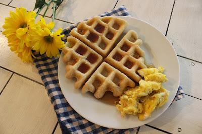 {Homemade} Gluten Free Waffles