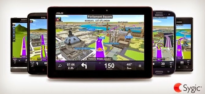 DOWNLOAD APLIKASI GPS OFFLINE FOR ANDROID ( Sygic )