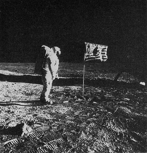neil armstrong on the moon 1969 - photo #21