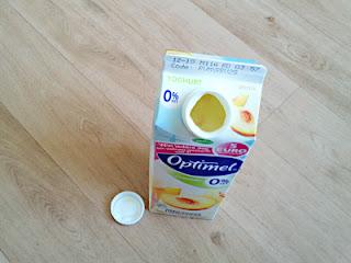 Campina Optimel Yoghurt Perzik