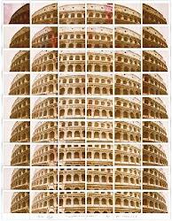 L'arte polaroid di Maurizio Galimberti a Venezia.