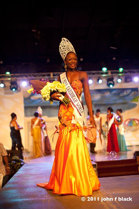 Sudeakka Francis is the winner of Miss Caribbean World 2011 - Photos of the winners