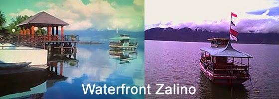 Objek wisata dan restoran Waterfront Zalino