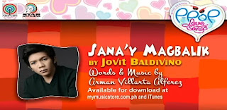Sana'y Magbalik by Jovit Baldivino Lyrics & Video Himig Handog P-Pop Love Songs
