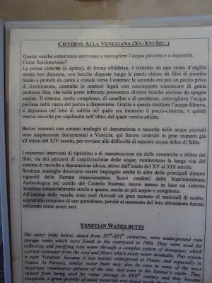 cisterne biblioteca Ariostea Ferrara