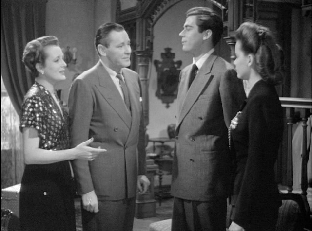 Mary Astor, Herbert Marshall, Elliott Reed and Susan Peters in Young Ideas 1943.