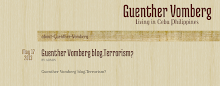 Guenther Vomberg blog.Terrorism?