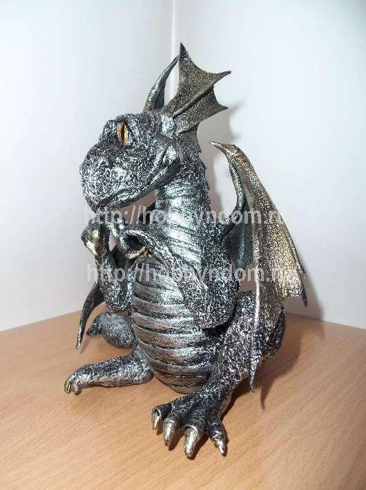 Дракон своими руками из папье-маше