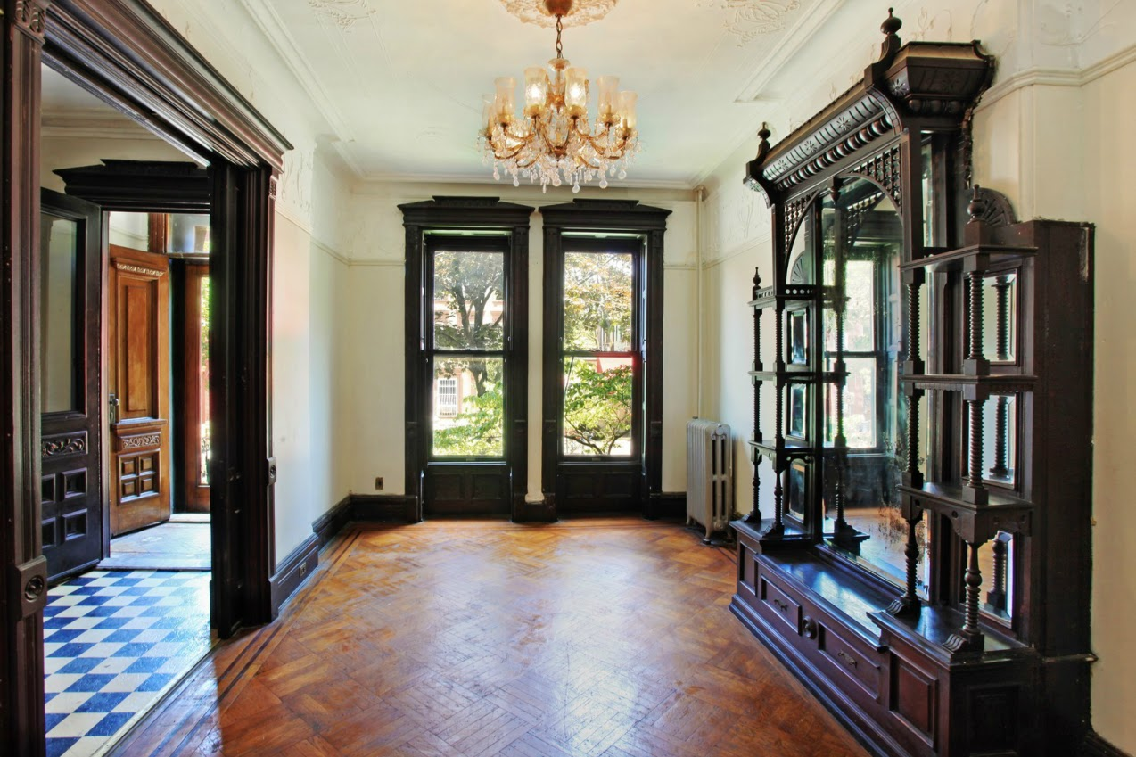 Victorian gothic interior style june 2012 Brooklyn brownstone interior