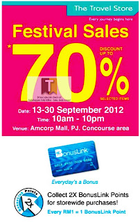 The Travel Store Festival Sales 2012