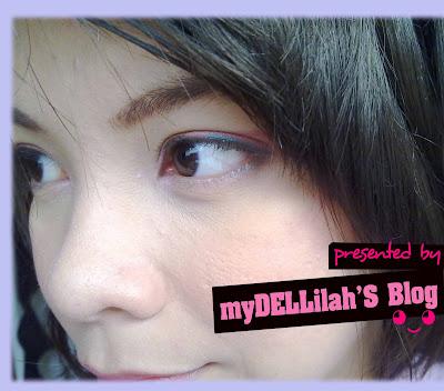 Penggunaan Pensil eyeliner hijau Pixy