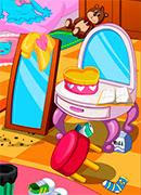 Уборка в моей комнате - Онлайн игра для девочек