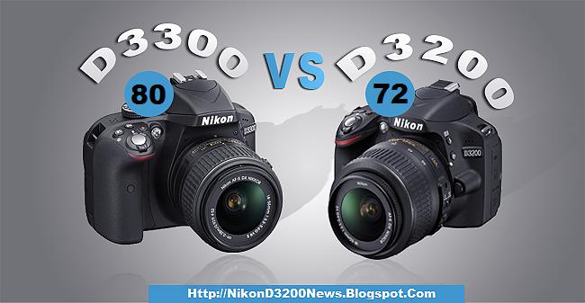 Nikon d3200 vs d3300