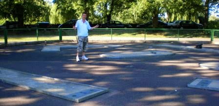 The old Miniature Golf course in Windsor