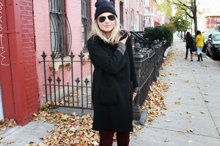 American Apparel beanie Ray-Ban aviators fall Brooklyn