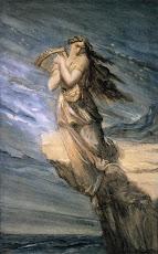 Safo de Mitilene, Lesbos, Grecia (s. VII o VI a.C.),  la 10ª Musa