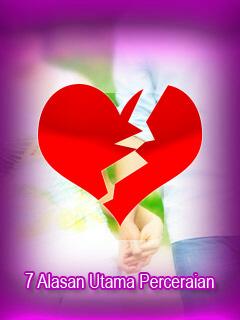 7 Alasan Utama Perceraian