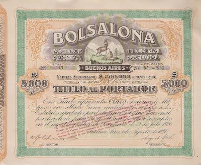 Bolsalona Sociedad Anonima Industrial y Commercial