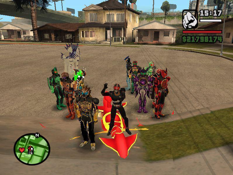 GTA San Andreas - Gametasik