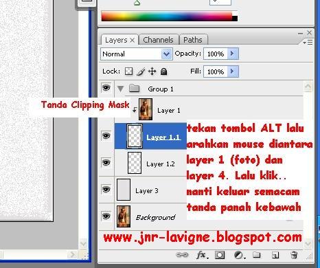 Foto Tutorial Cara Edit Foto Dalam Foto - Cara membuat Cliping Mask