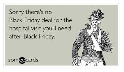 Black Friday hospital visit