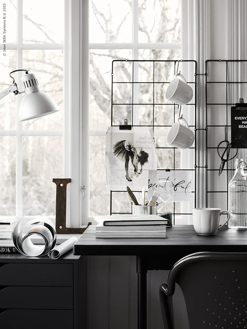 Life as a moodboard mood on the wall wire frameworks for Ikea barso trellis