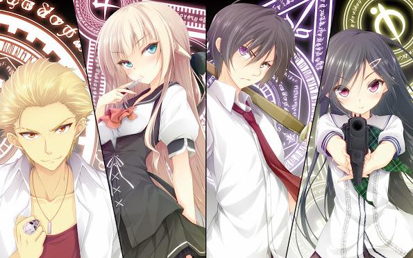 magical warfare mahou sensou anime 2014 hd wallpaper 1680x1050