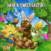 felices pascua en dragon city
