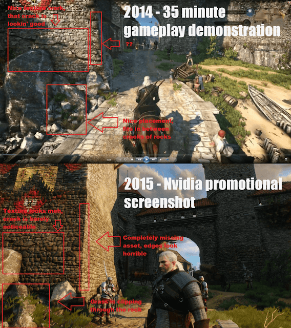 witcher 3 graphics downgrade