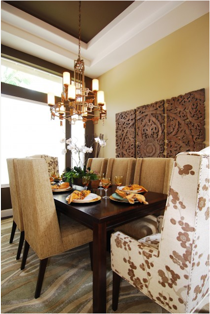 Asian dining room design ideas for Asian themed dining room ideas
