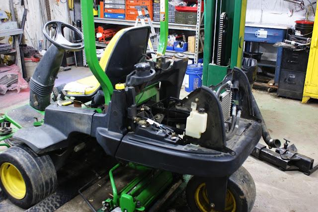 Mower Engine Rebuild : Sugar creek golf course greens mower engine rebuild