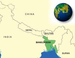 Bangladesh is a south Aisan country.