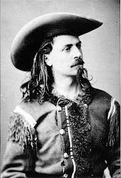 Bufalo Bill, uma das figuras mais conhecidas do velho oeste.
