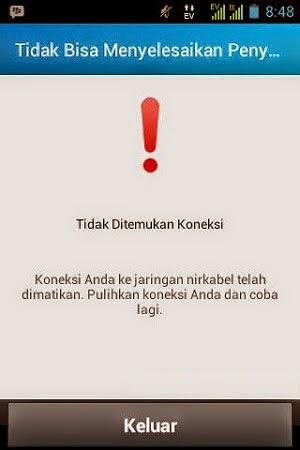 """Triks"""" Tidak Ditemukan Koneksi """"pada BBM-Android"""